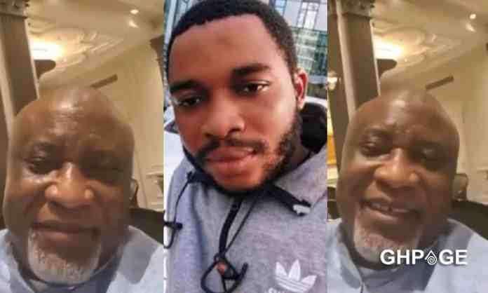 Twene Jonas sacked from work, homeless and wanted for deportation – Hopeson Adorye reveals