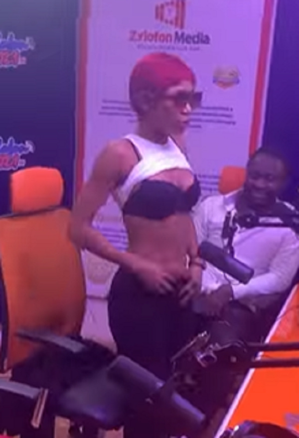 WATCH VIDEO : 'No stretch marks on my breast' - Akuapem Poloo goes wild in new video